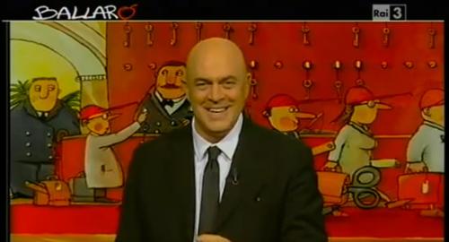 """Copertina Crozza Ballarò 11 Dicembre 2012: gli alieni esistono! """"Berlusconi uno di loro"""" [Video]"""